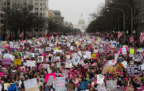 "Women's March on Washington: ""Welcome to your first day, we will not go away!"""
