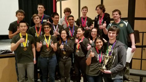 Ward Melville Science Olympiad Team Comes in First at Regionals