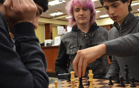 Chess in the Library: A New Ward Melville Pastime