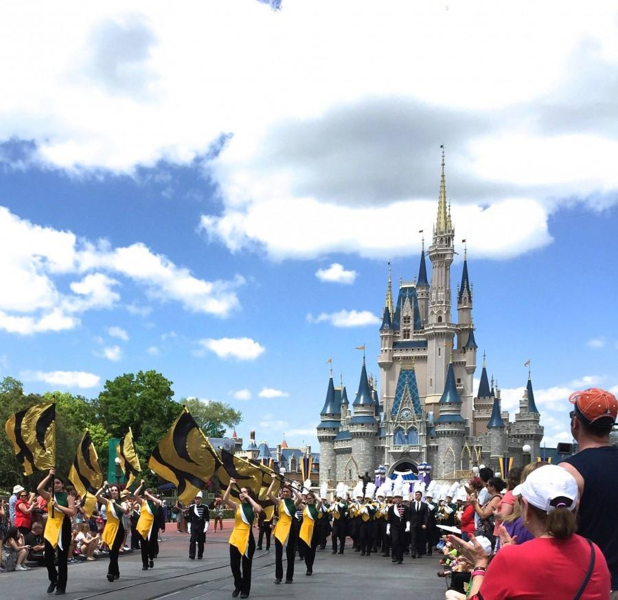 Marching into the Happiest Place on Earth