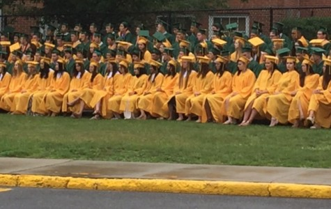 Ward Melville Celebrates the Class of 2015 Despite Rain