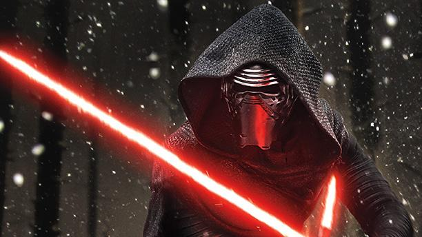 Kylo Ren: The new villain from Star Wars: The Force Awakens