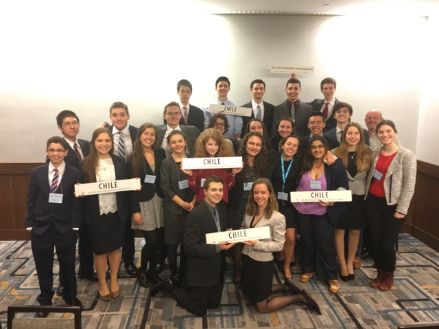 Ward Melville Model UN Excels at NHSMUN