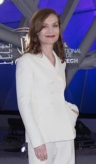 Isabelle Huppert, who is nominated for Best Performance by an Actress in a Motion Picture