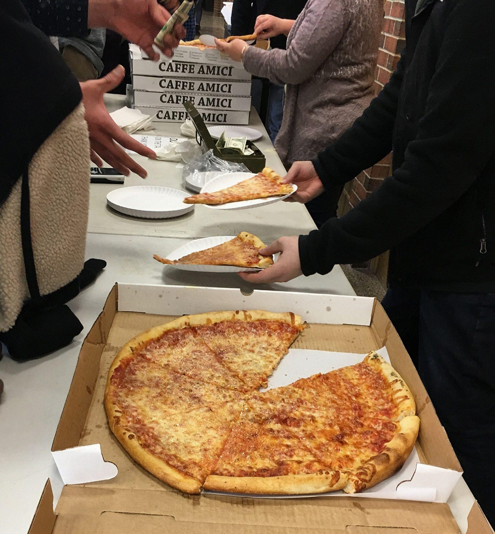 Pizza-Selling for Kaleidoscope