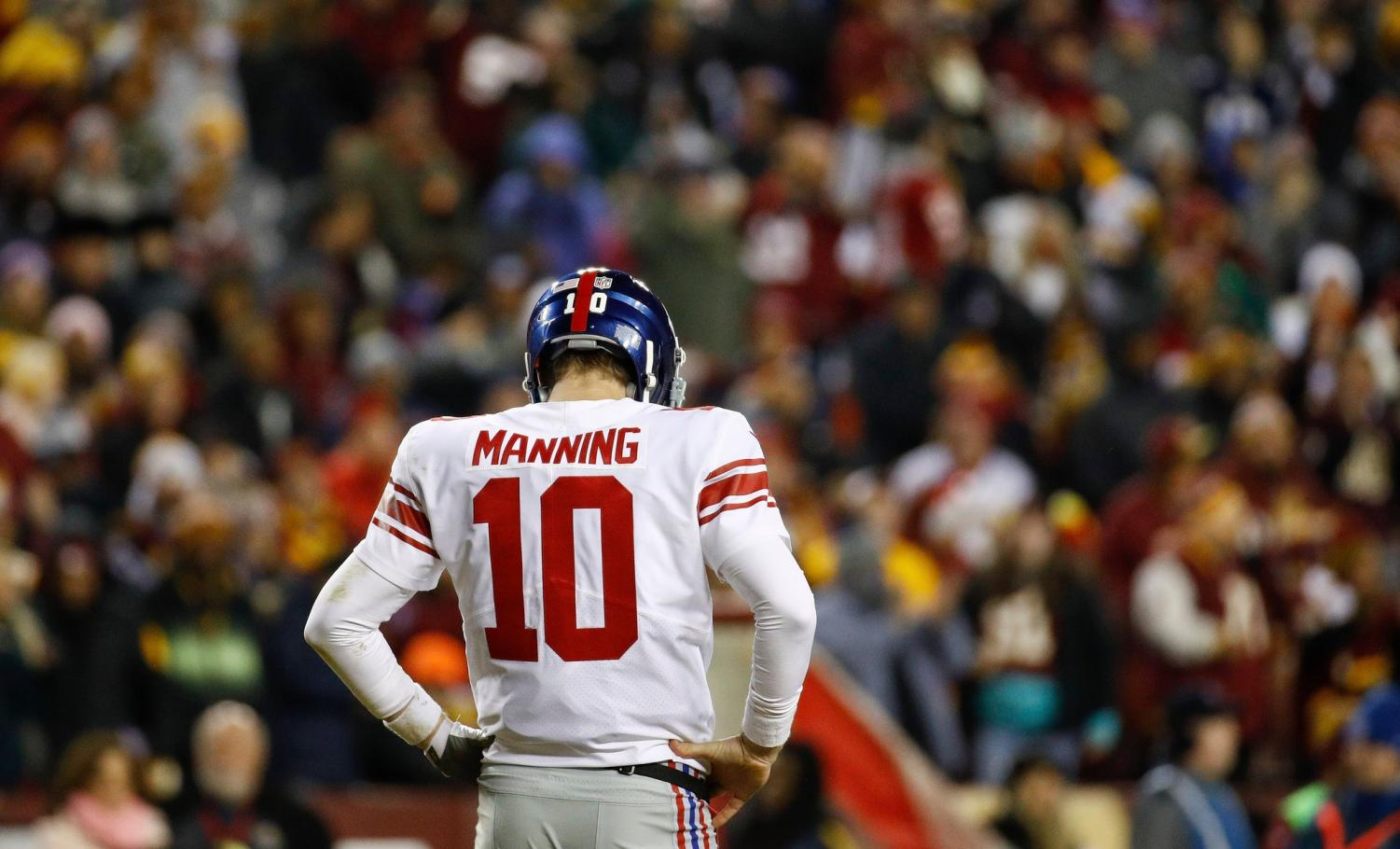 Eli Manning became the first 20 million dollar bench warmer in history