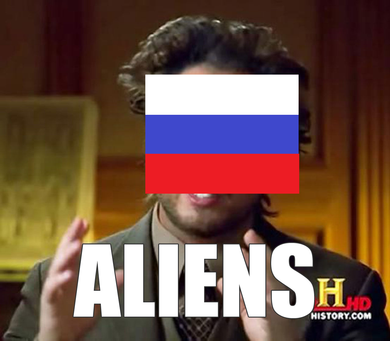 Russia, probably.