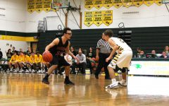 Defense and Team Work Bring Patriot Hoops to First League Win
