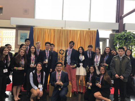 DECA Members Excel at International Career Development Conference