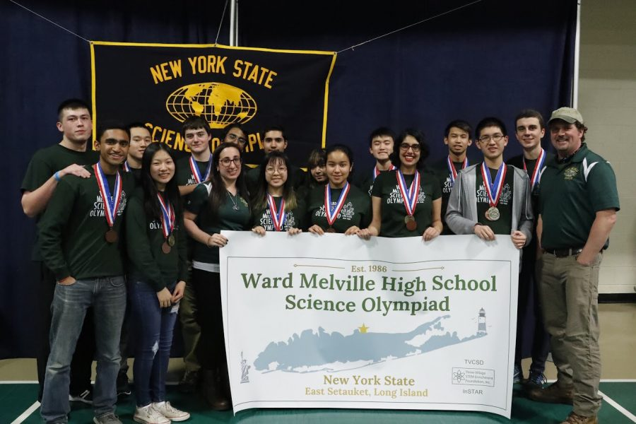 Ward+Melville+Science+Olympiad+Competes+at+States+Tournament