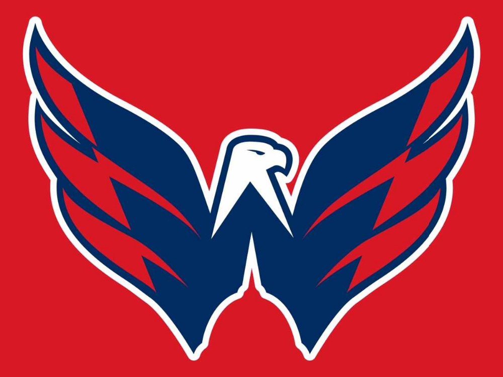 Logo of Washington Capitals hockey team.