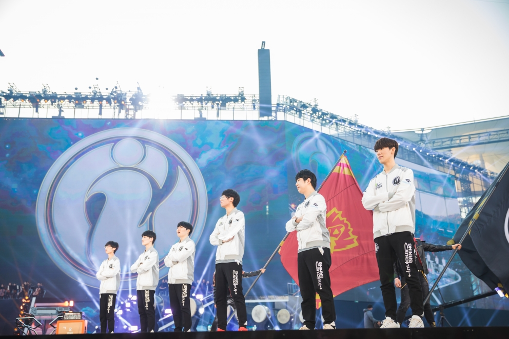 The League of Legends World Stage (src: lolesports.com)